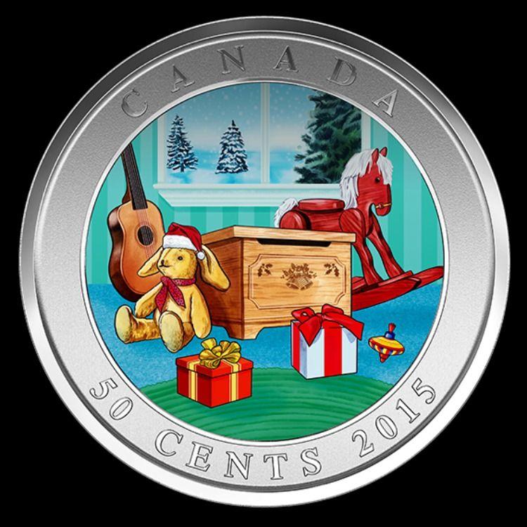 2015 3D Holiday Toy Box | Munten