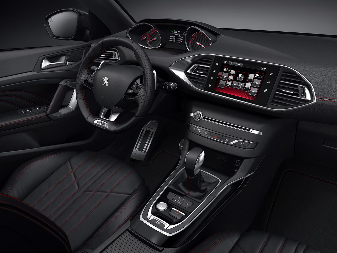 Car Interiors 2014 Peugeot 308 Gt Peugeot 308 Peugeot Sports Cars Mustang