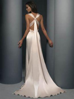 Destination Wedding Informal Wedding Dresses Informal Wedding Gowns Backless Wedding