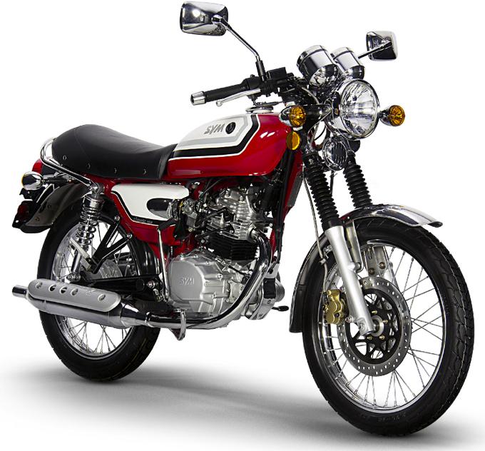 SYM SymWolf Classic 150 Motorcycle retro style modern reliability | Vespa Portland