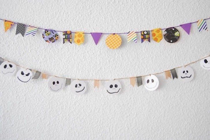 Banderines Y Guirnaldas Para Fiestas Fiestas Infantiles Y - Guirnaldas-para-fiestas-infantiles