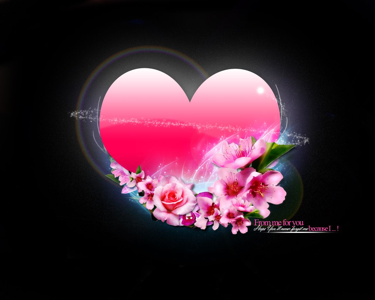 3d Pretty Heart Hd Wallpapers Pink Heart Wallpapers 5143