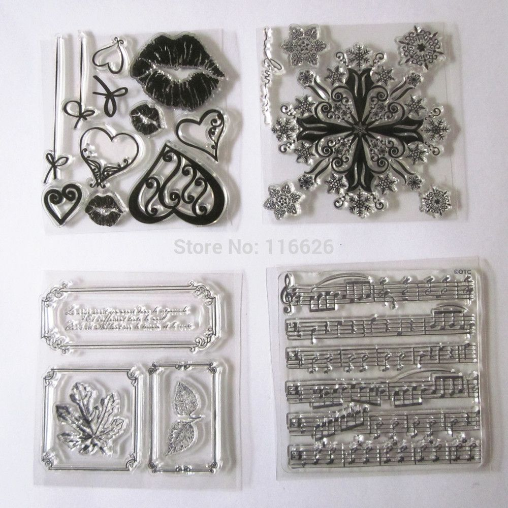 mix-4-design-cute-mouth-snow-music-pattern-rubber-clear-stamps-silicone-transparent-seal-scrapbooking-accessories1.jpg (1000×1000)