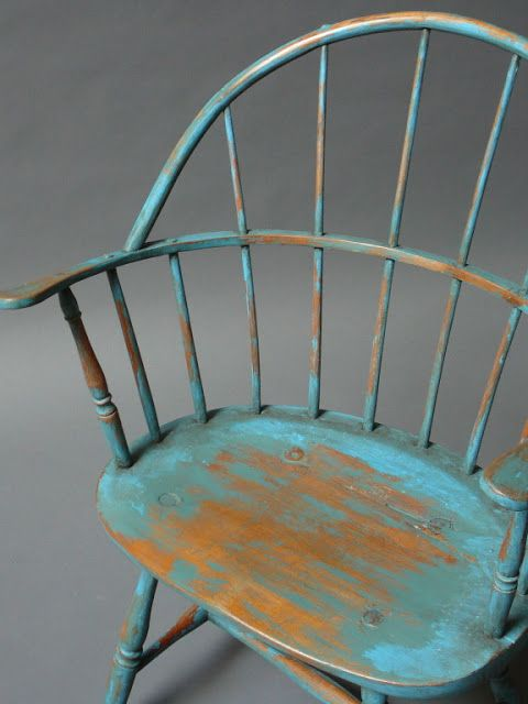 The Rustic Modernist: Seat Of The Week: Windsor Chair.