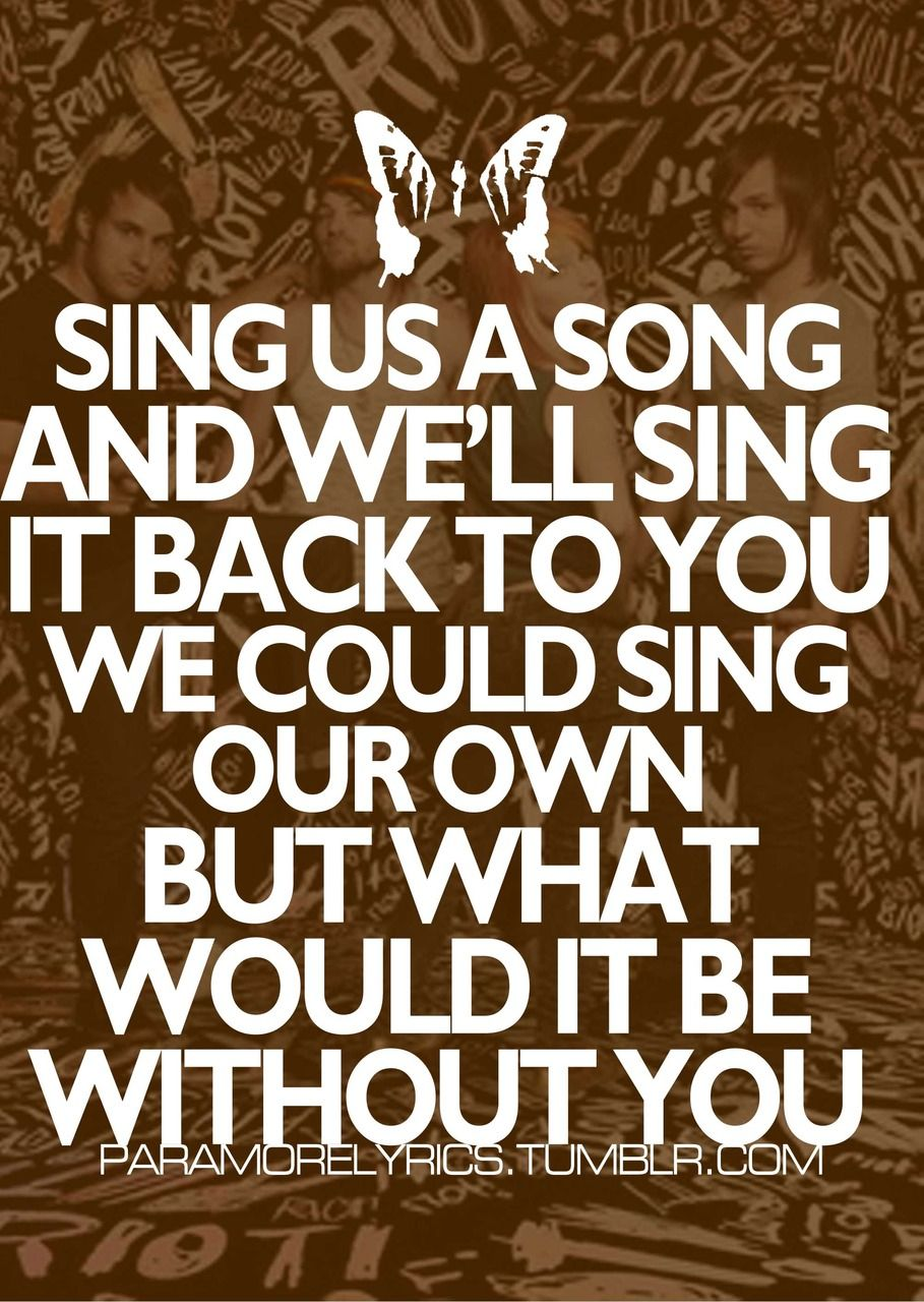 paramore song lyrics - photo #28