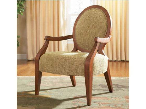 The Graceful Circle Back Silk Road Chair Adds Instant