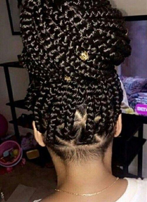Naturel Hair Care : Box braids