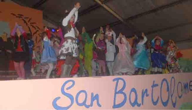 Grupo Mascarada Carnaval: Carnaval chinijo en San Bartolomé