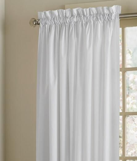 Nice Simple Curtains, White Panel Curtains, Simple White Curtains   Country  Curtains®