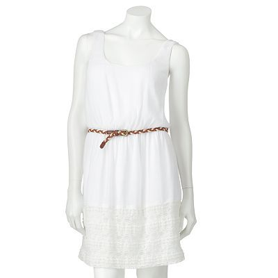 Lily Rose White Lace Dress from Kohls. Latest edition to my closet :)