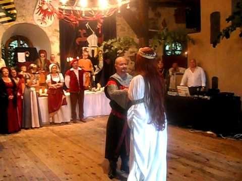 Mittelalter Tanz Hochzeit Medieval Wedding Mittelalterhochzeit Mottohochzeit Mittelalter Hochzeit