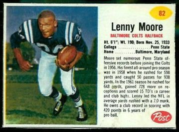 Lenny Moore / Baltimore Colts