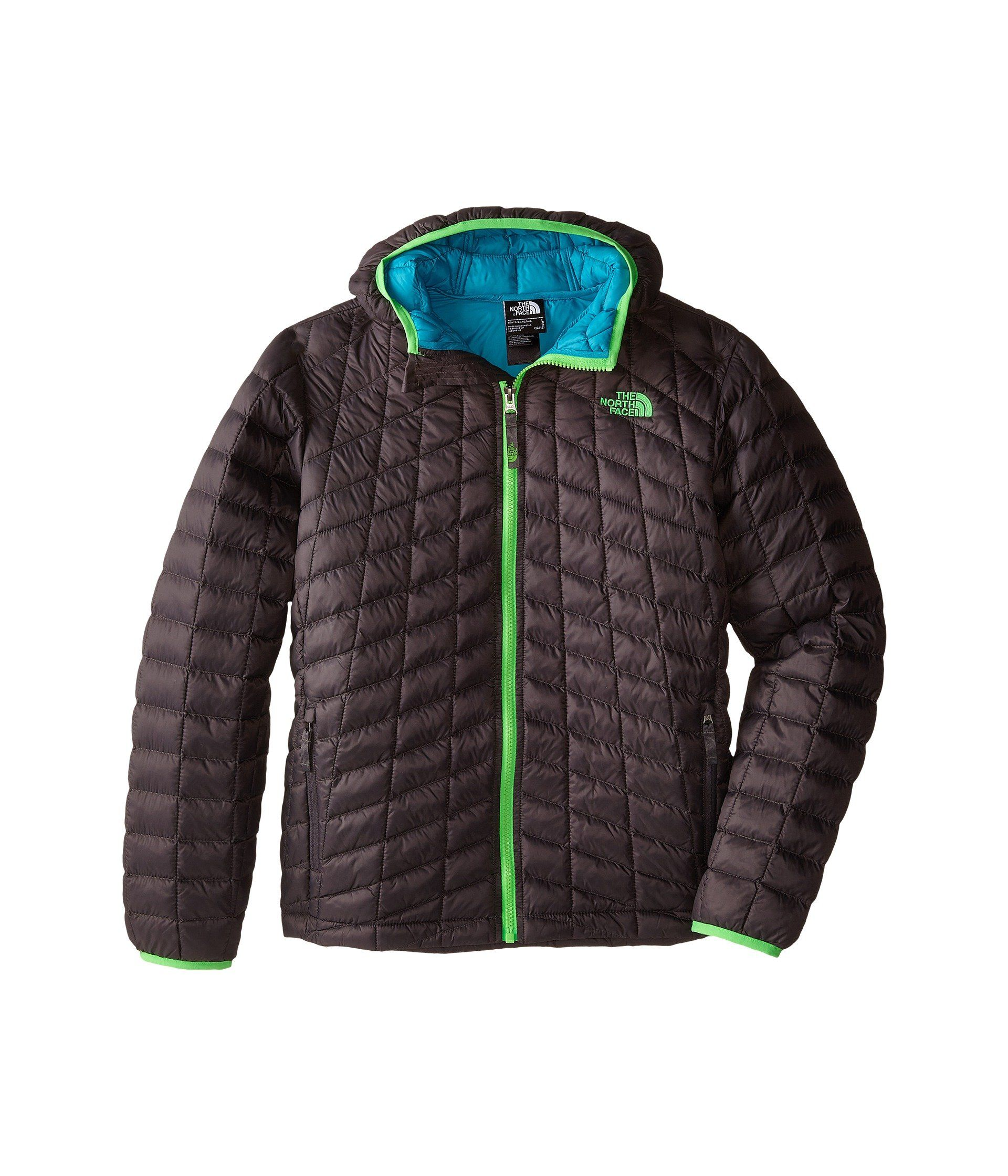 b9b9a688d The North Face Boys B Thermoball Jacket - Graphite Grey. The North ...