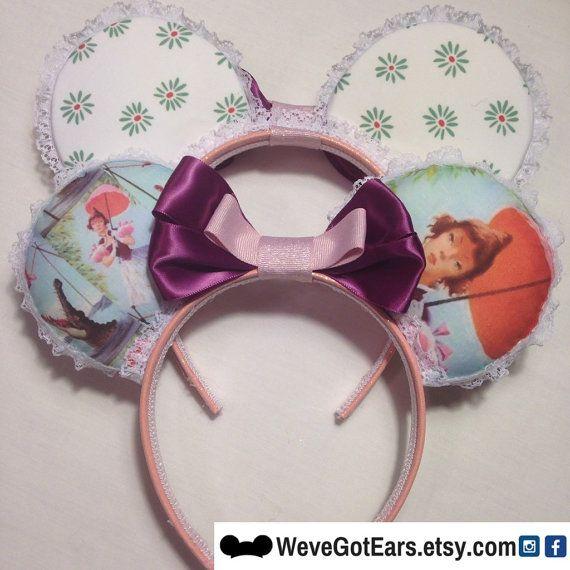 Disney Park Minnie Ears Bow Haunted Mansion Tightrope Girl Mickey Headband