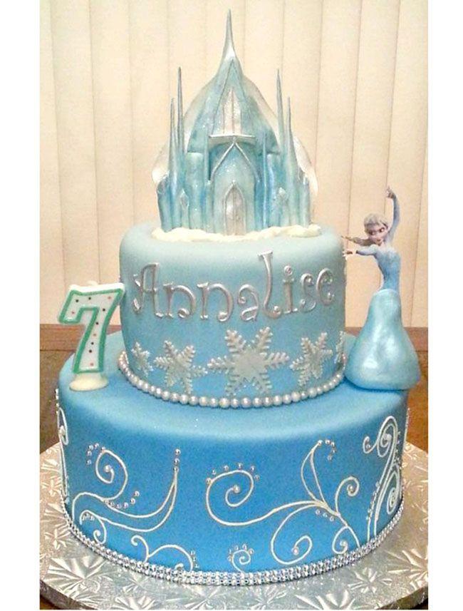 Kue Ulang Tahun Frozen Tingkat Tortendeko