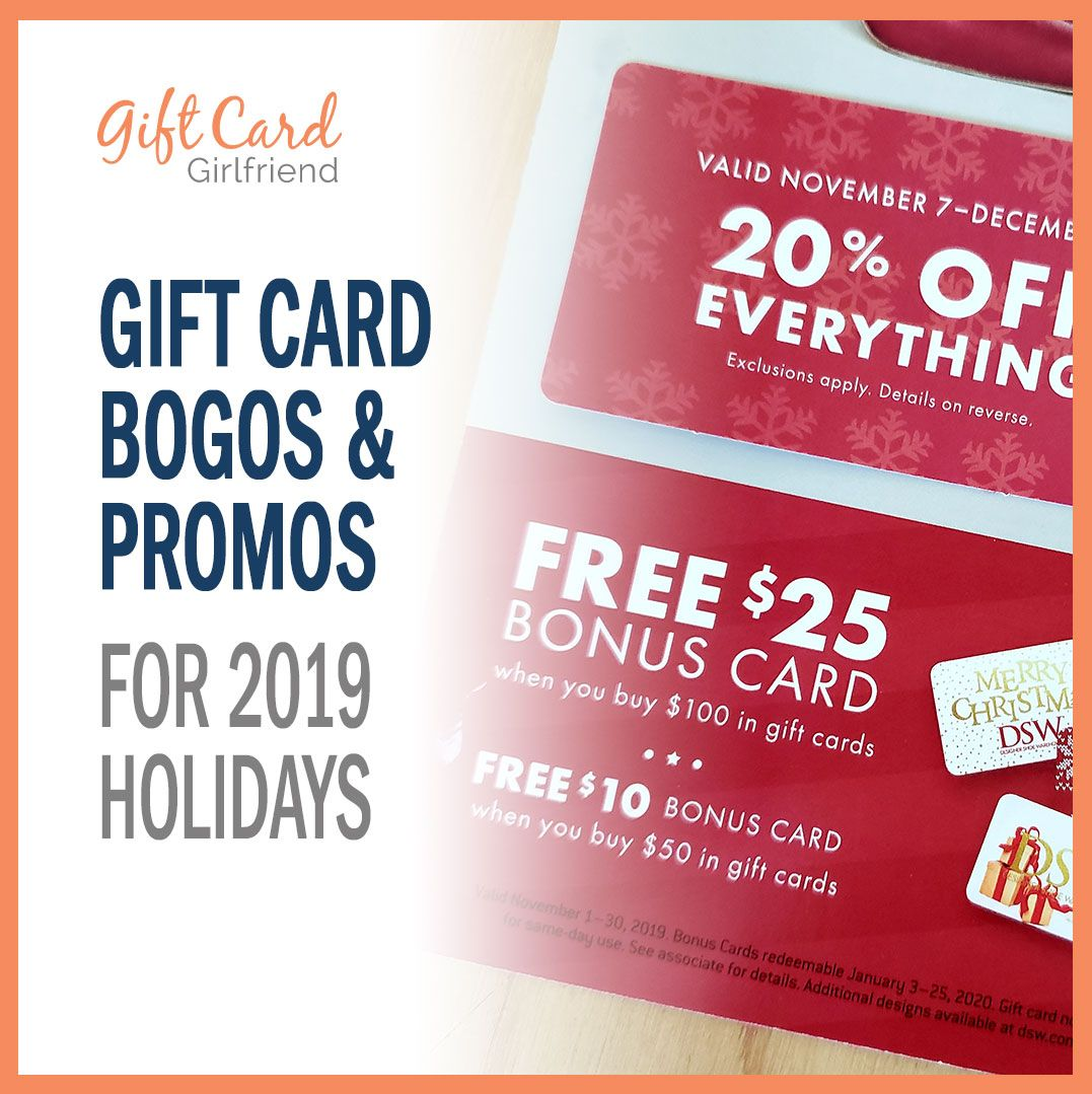 45 Gift Card Bogos And Promos For 2020 Holidays Giftcards Com Gift Card Deals Gift Card Discount Gift Cards