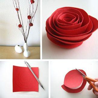 12 Grown Up Construction Paper Crafts - Craft Paper Scissors
