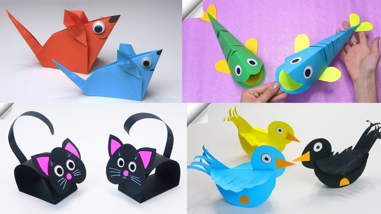 how to make toys with paper