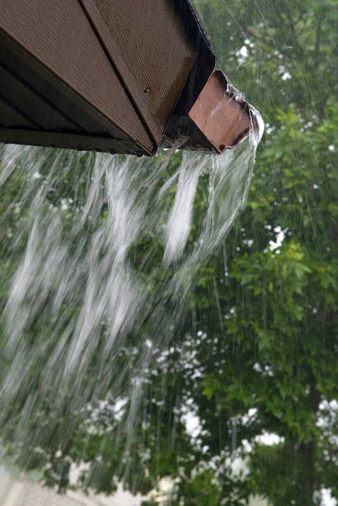 How To Detect A Rain Gutter Leak Or Problem Rain Gutters Gutter Cleaning Gutters