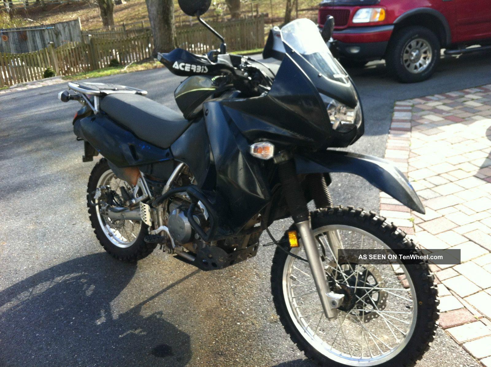 hight resolution of klr 650 off road 2008 black kawasaki klr 650 dual sport great on and off road bike