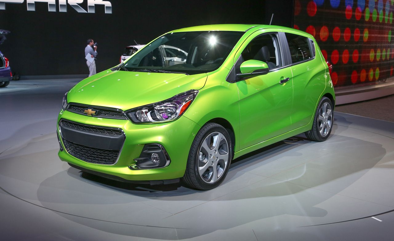 2016 Chevrolet Spark Revealed Gm Lights A Fire Beneath Its Tiny