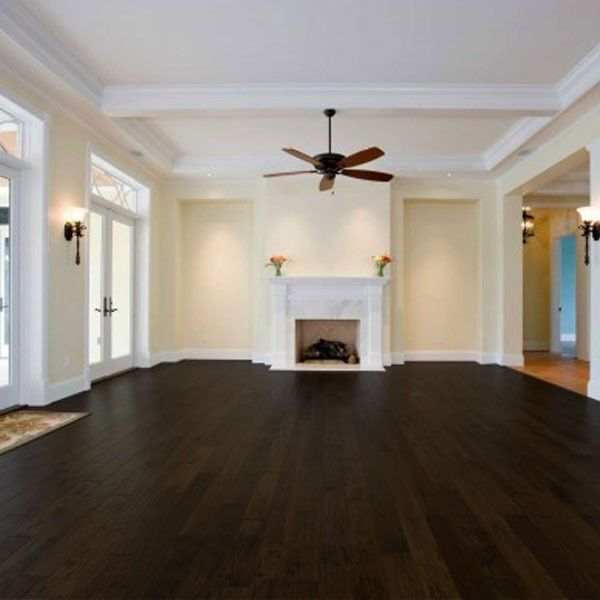 Chocolate Colored Textured Laminate Wood Flooring Wanttttthis Dark