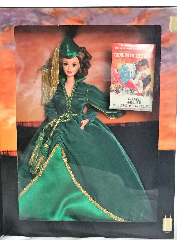 Hollywood Legends Barbie As Scarlett O'Hara #12045 #hollywoodlegends Hollywood Legends Barbie As Scarlett O'Hara #12045 #etsy #toys #legendbarbie #collectiblebarbie #pretendplay #actionfigure #girldolls #vintagebarbie #holidaybarbie #playhouse #hollywoodlegends