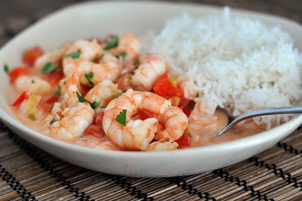 Garlic Shrimp in Coconut Lime Tomato Sauce {Quick and Healthy Dinner!}   Mel's Kitchen Cafe