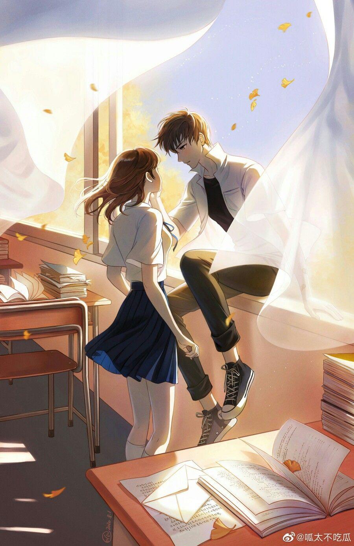 Pin Oleh Johanna Barandica Di Animasi Di 2020 Gadis Animasi Anime Gadis Cantik Komik Romantis