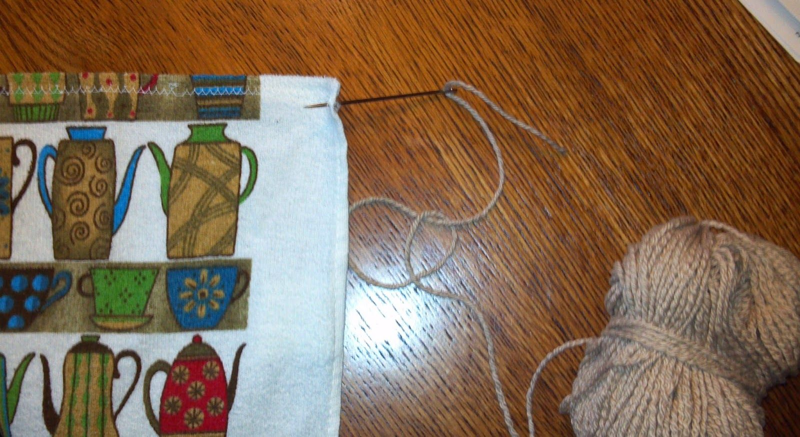 Kriskrafter: Knitted Towel Topper - Free Pattern! | Knitting ...