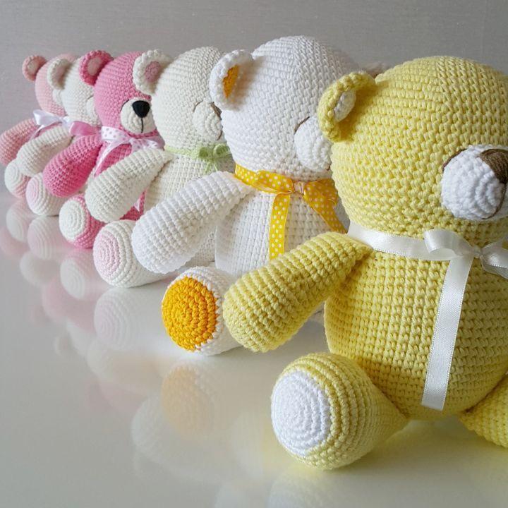 Amigurumi bears #crochet | Crochet | Pinterest | Muñecos de ...