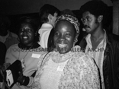 Rita Marley: Commonwealth Institute, London UK. From the series 'Muzik Kinda Sweet.'    1987 Pogus Caesar/OOM Gallery Archive. All Rights Reserved