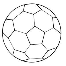 Soccer Ball Coloring Pages Free Printables Momjunction Soccer Ball Football Coloring Pages Soccer