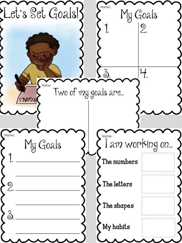 Collaborating with Parents on Goal Setting for Children | Goal ...