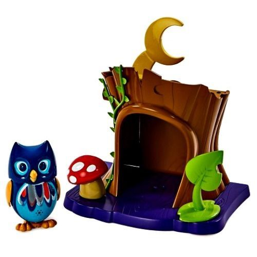DigiOwls Forest Hollow Play Set Quill Hot Toy Girls Blue