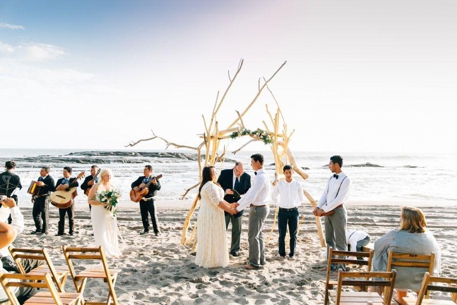 #beach  Photography: Lora Grady  - www.loragradyphotography.com Venue: Pochomil Beach, Nicaragua - vianica.com/attraction/26/pochomil Wedding Dress: Dreamers And Lovers - www.dreamersandlovers.com