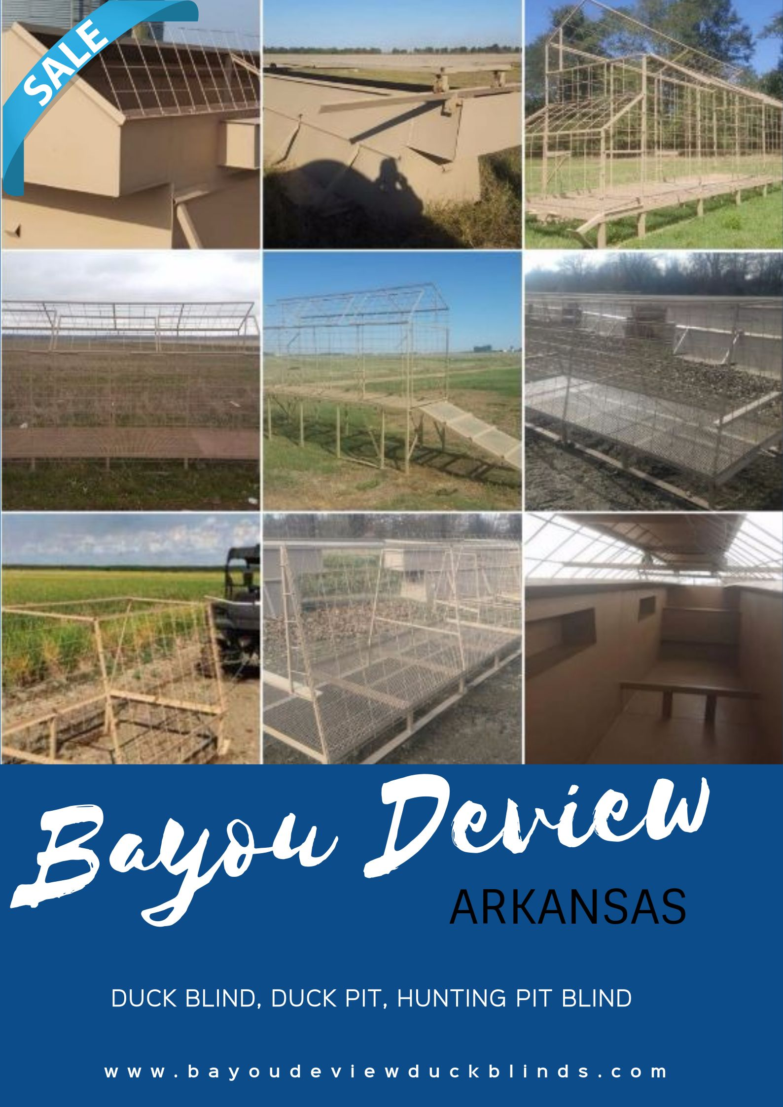 Pit Blinds For Sale.Bayou Deview Is The Manufacturer Of Duck Pit Goose Pit In