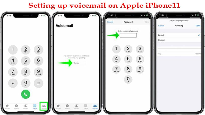 How To Set Up Voicemail On Your Iphone 11 Simply And Easily Iphone Iphone Tutorial Iphone 11