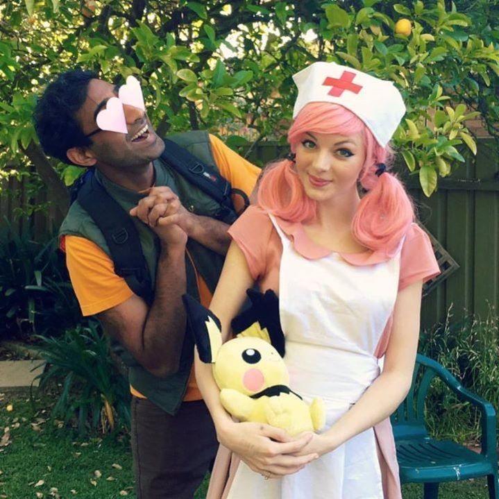 Image result for brock and nurse joy cosplay