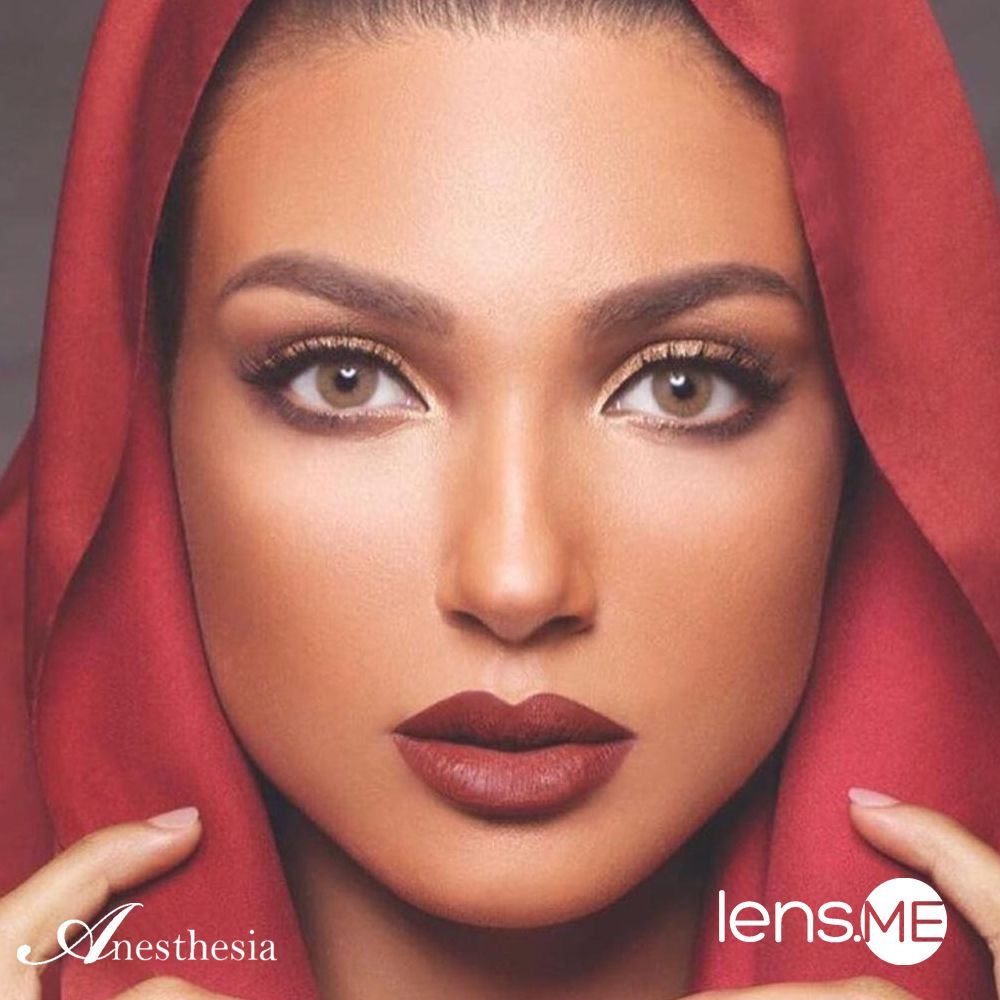 Anesthesia USA L.A Mocha 2 lenses Makeup looks, Insta