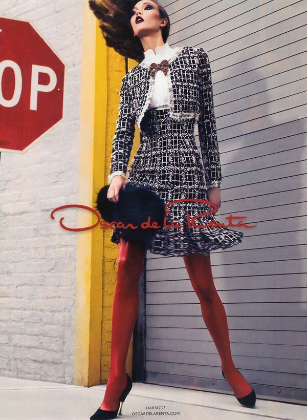 OSCAR DE LA RENTA AUTUMN-WINTER 2011-2012 CAMPAIGN