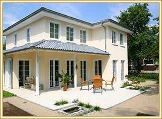 fertighaus villa piccola plus hausansicht houses pinterest villa and terrasse. Black Bedroom Furniture Sets. Home Design Ideas