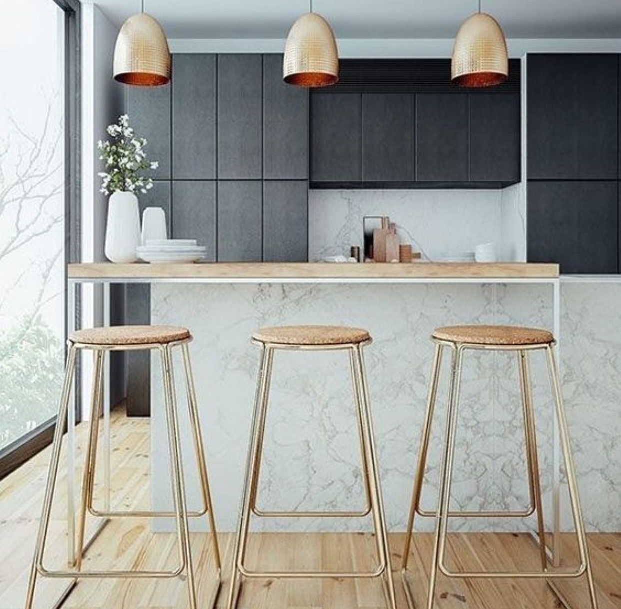 Pin by caitlin s on Home Decor   Pinterest   Modern and Kitchens