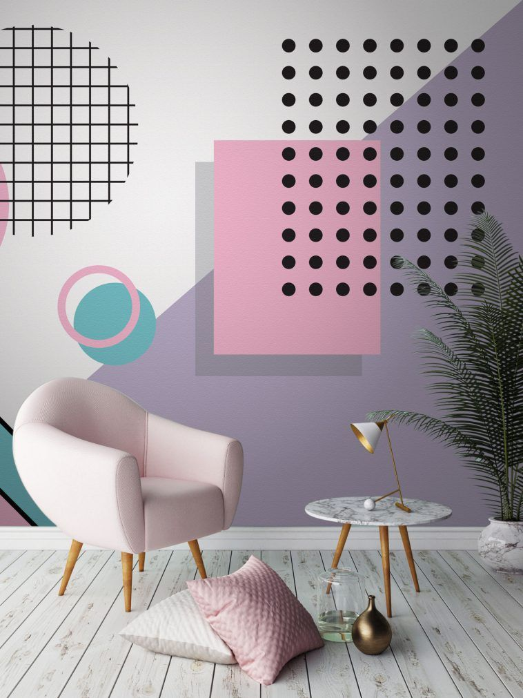 80s Wallpaper: Wonderful And Daring Decor For The Brave