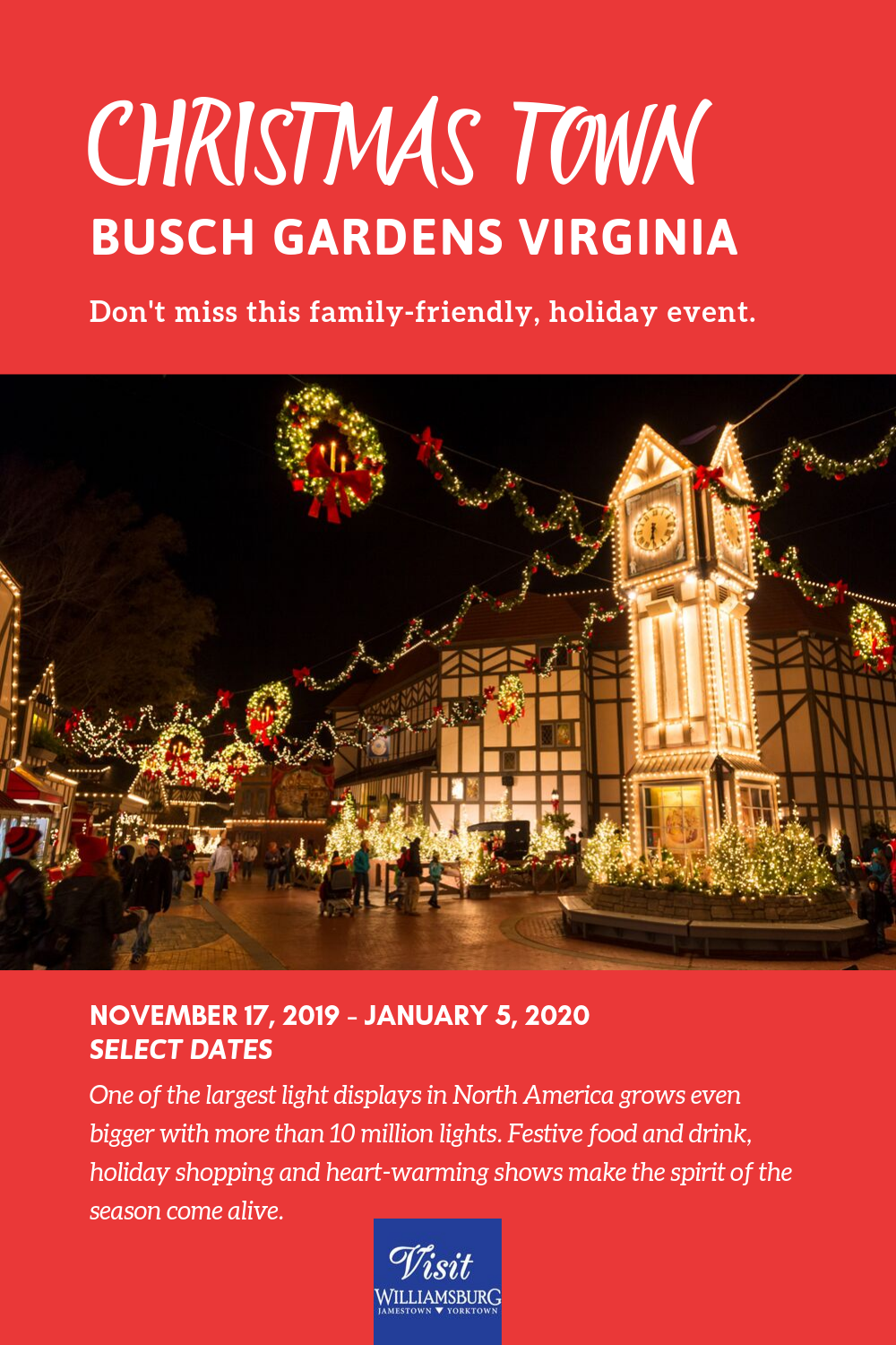 01c4506bd7045e25474f6650a17b9a35 - Prices For Busch Gardens Christmas Town