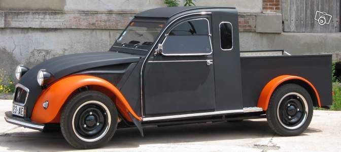 2cv pick up custom voitures gard le tableau de beno t pinterest 2cv. Black Bedroom Furniture Sets. Home Design Ideas