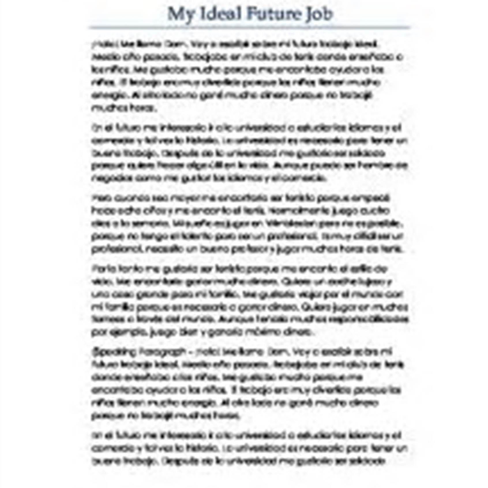Sample Career Life Plan Worksheet