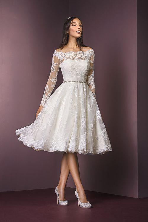 Zapatos para vestido de novia corto
