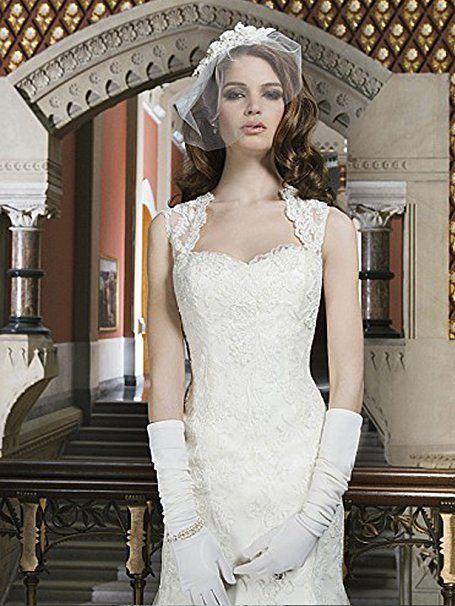Tianshikeer Hochzeitskleid Spitze Meerjungfrau Tüll Lang Elegant ...