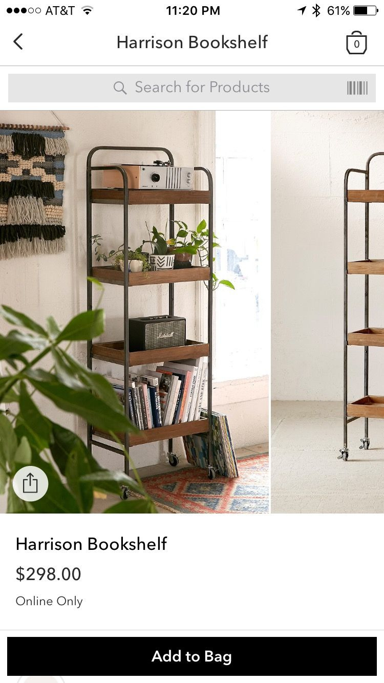 Harrison Bookshelf  Urban Outfitters  Home Decor Ideas  Interior design  tips